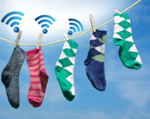 Internet of socks
