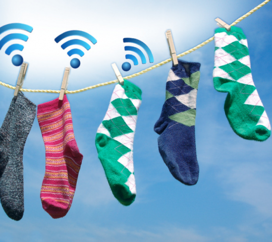 The internet of socks has arrived